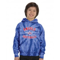 LP Angels TieDye Hooded Sweat Shirt